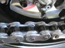 cadena motocicleta