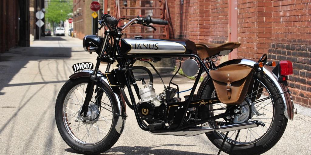 Janus Halcyon 50; El ciclomotor con aire retro