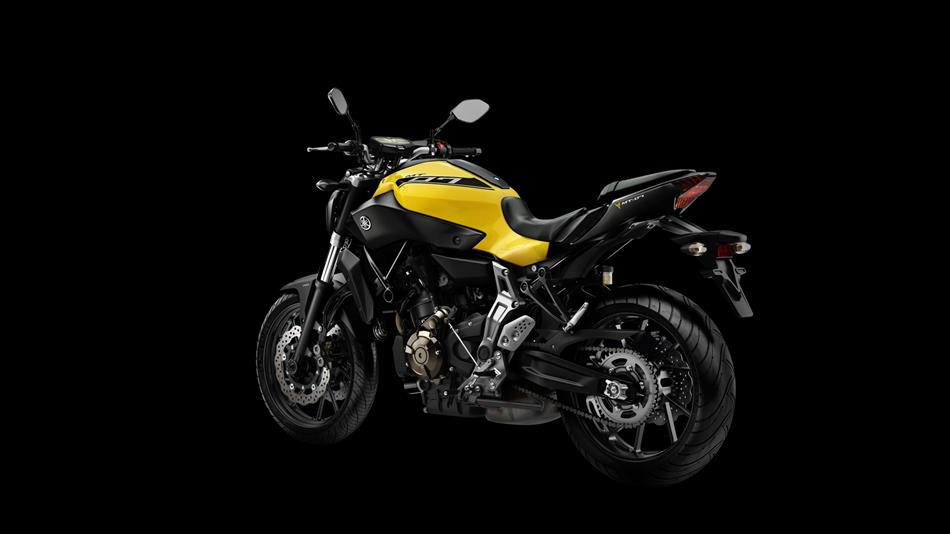 Yamaha MT-07 Extreme Yellow
