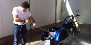 Limpieza de tu motocicleta