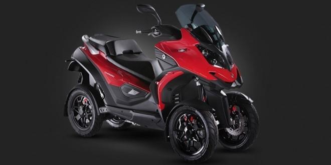 Quadro4 : El primer scooter de cuatro ruedas